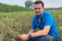 Miljoenen euro's schade voor boeren in Brabant na overstromingen