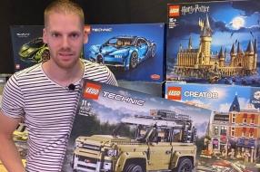 Lichtman wordt LEGO-man, corona maakt zakenman Frédéric (extra) creatief