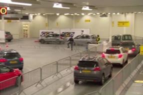 Nieuwe teststraat in Cuijk is de grootste van Brabant: maximaal 1600 tests per dag