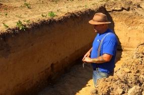 Snelweg van 2000 jaar geleden gevonden bij aanleg riolering:  'Het is de A73 uit de Romeinse t