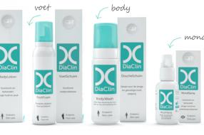 Diaclin - huidverzorging bij diabetes